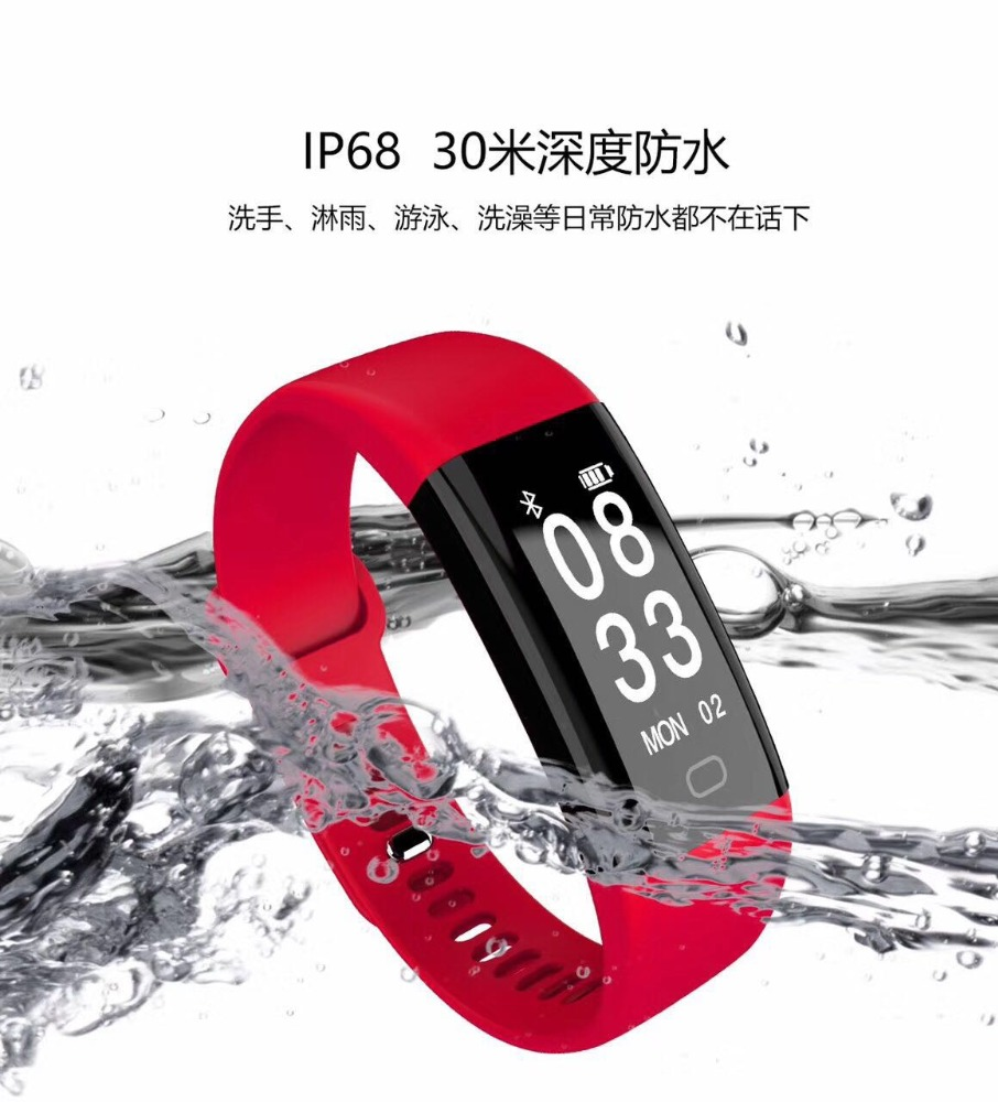 Original Xia Mi Band 2 MiBand 2 Smart Heart Rate Fitness Wristband Bracelet with Smart Heart Rate Monitor Touchpad OL