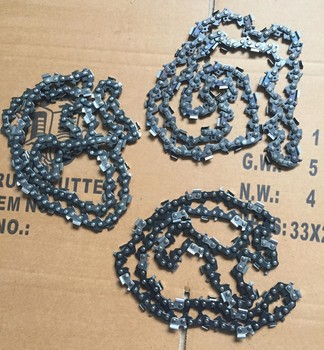 """72"""" forester™ guide bar & carlton® saw chains for husqvarna 394xp."""
