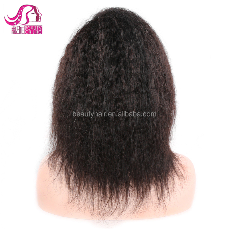China Supplier Brazilian Human Hair Lace Front Short Wigs