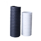 HDPE corrugated perforated drain pipe