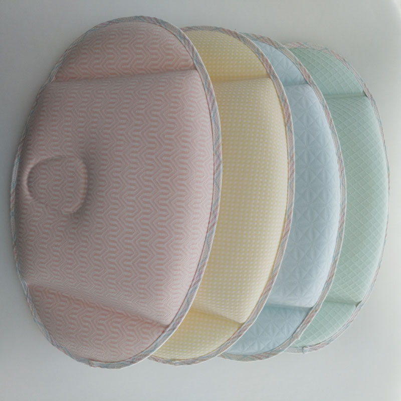 Cute Baby Anti-migraine Pillow, Kid Stripe Sleeping Head Shaping Pillow,Infant Neck Protection Pillows
