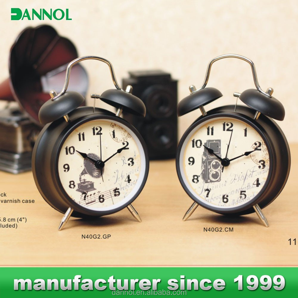 Quartz Custom made in chinese wholesale metal clocks and watches fashion price