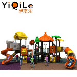 suitable for the 3-14 Year old kids playing outdoor play castle plastic combination slides outdoor equipment