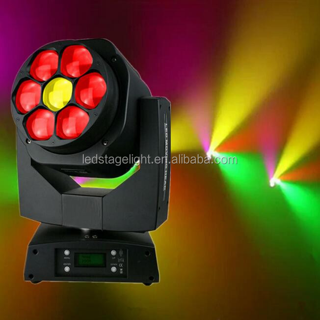 7pcs Bee -eye light,mini bee eye moving head light,led moving head