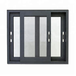 Aluminium windows and doors aluminium double glass sliding window