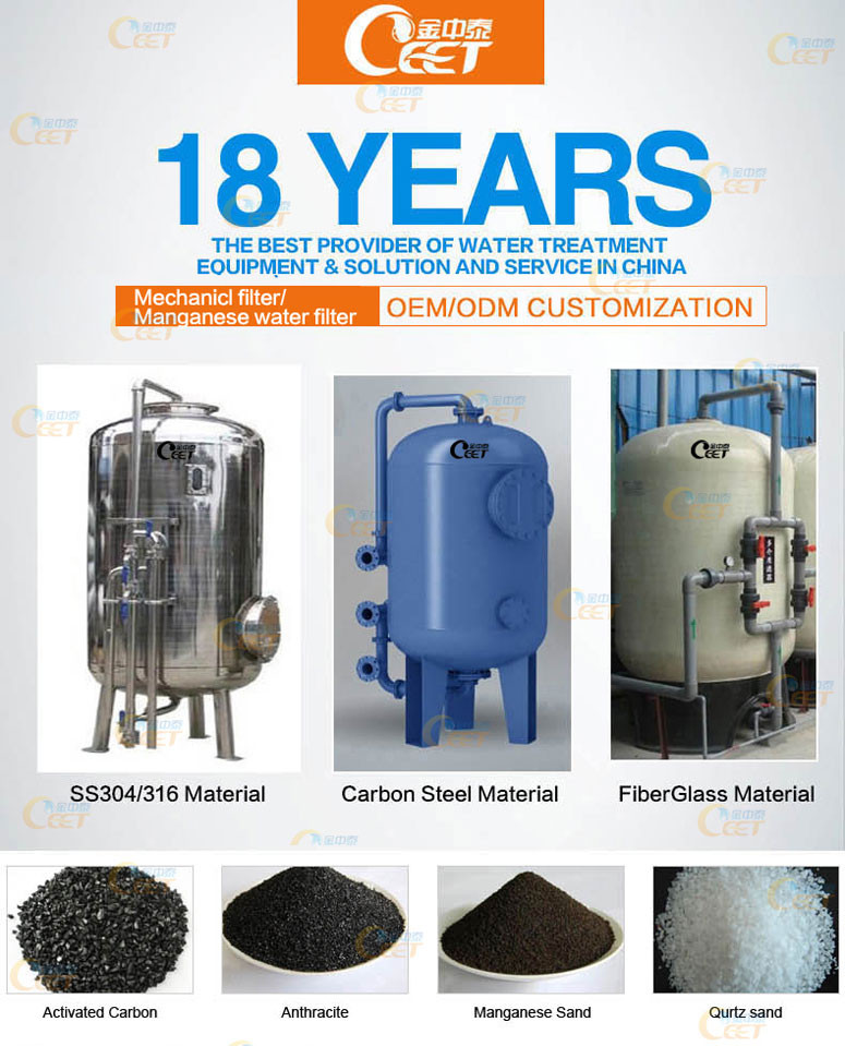 Water Treatment Plant Coconut Shell Activated Carbon Filter To ...