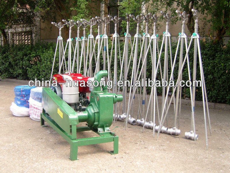 Portable hose reel irrigation system with boom 農場の用水系統 製品