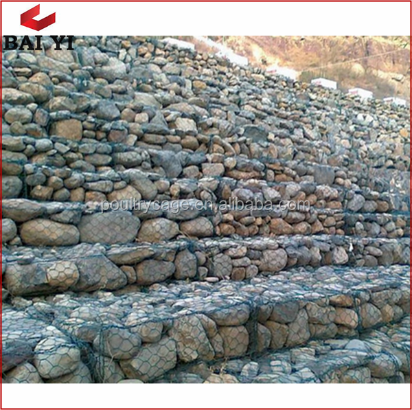 Anping Factory Supply Best Quality Stone Cage/Gabion Retaining Wall/Heavy Hexagonal Wire Netting