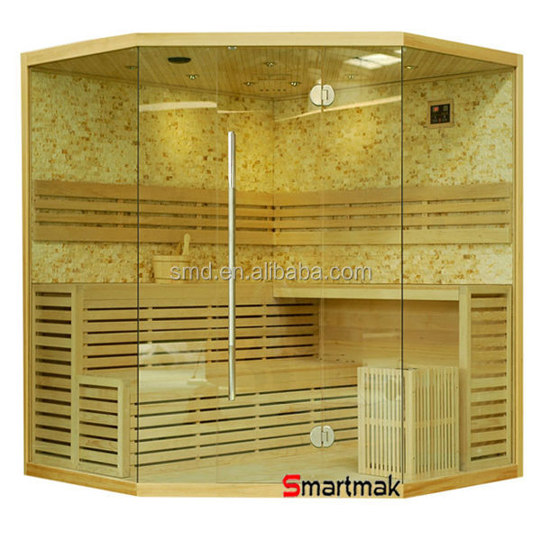 wholesale luxury finland sauna house, traditional sauna cabin,portable steam sauna room