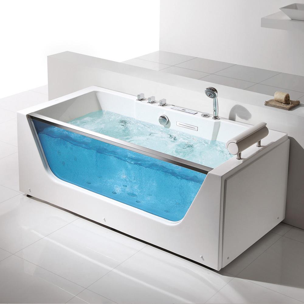 China luxury safety glass bathtub wholesale 🇨🇳 - Alibaba