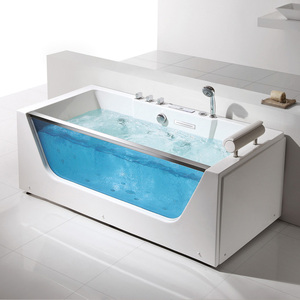 FICO luxury safety glass bathtub FC-252
