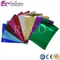 metallic paper and cardboard for handicraft