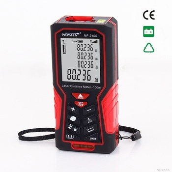 Professional brand - NOYAFA ! Hold-hand Laser 100 m distance meter measure area & volume
