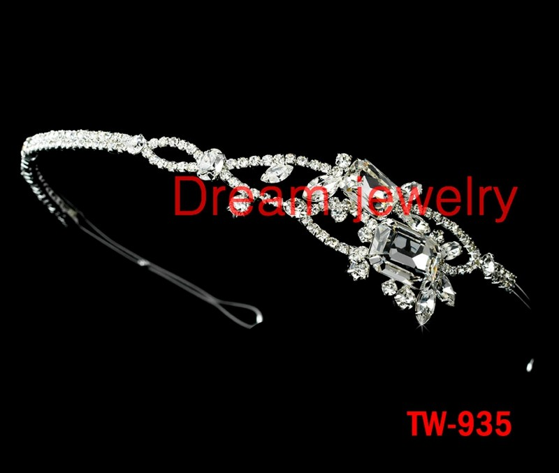 2016 New Arrival Crowns Crystal Princess Crown Tiaras Head Jewelry