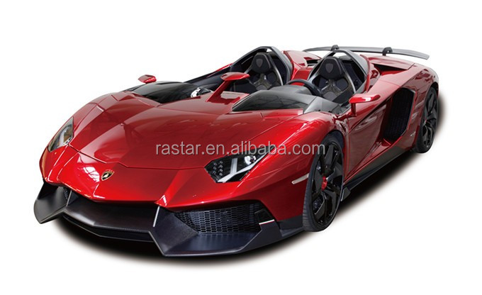 RASTAR RED COLOR 1:12 licensed Aventador J rc car toy