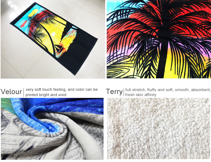 [10% discount] Free Sample 100% cotton custom printed toallas de playa
