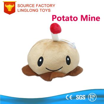 polyester plant brown potato mine plants vs zombies plush toy buy