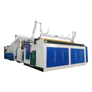 Fully Automatic Toilet Tissue Paper Rewinding Machine High Speed Toilet Paper Roll Making Machine