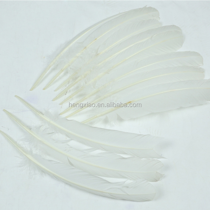 wholesale artificial white feather turkey feathers for sale