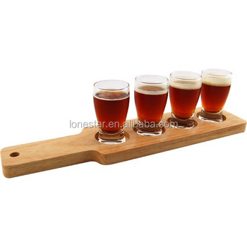 wholesale wooden craft brews beer flight paddles wine tasting wood