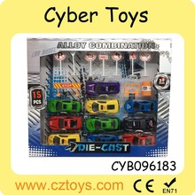 2015 Hot product 1:24 scale model car mini push back car toy for sale with HR4040,en71,7p