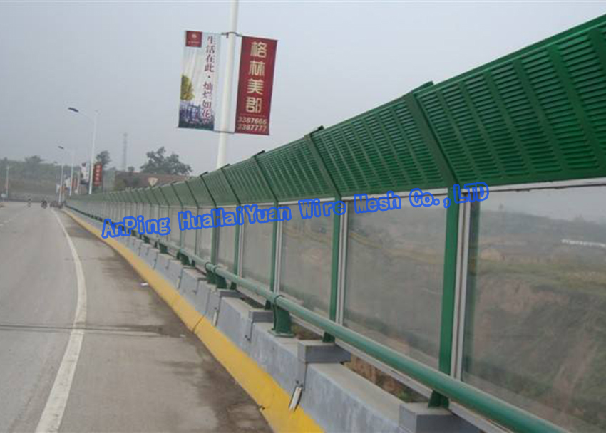 China wholesale Modern design high quality low price absorptive road noise barrier