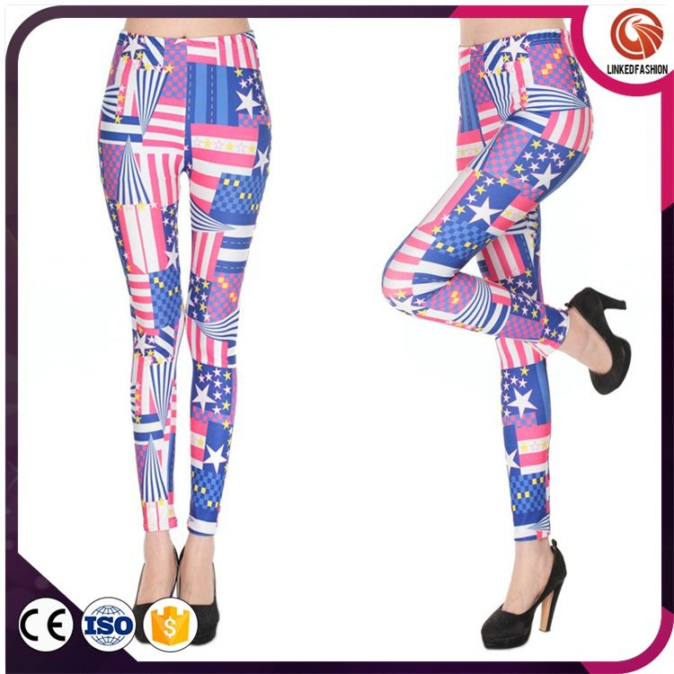 Whoelsale Fashion Lady Sexy Girls Leggings (Mix Colors)