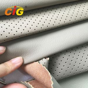 Waterproof Woven Printed Synthetic PVC PU Leather Fabric