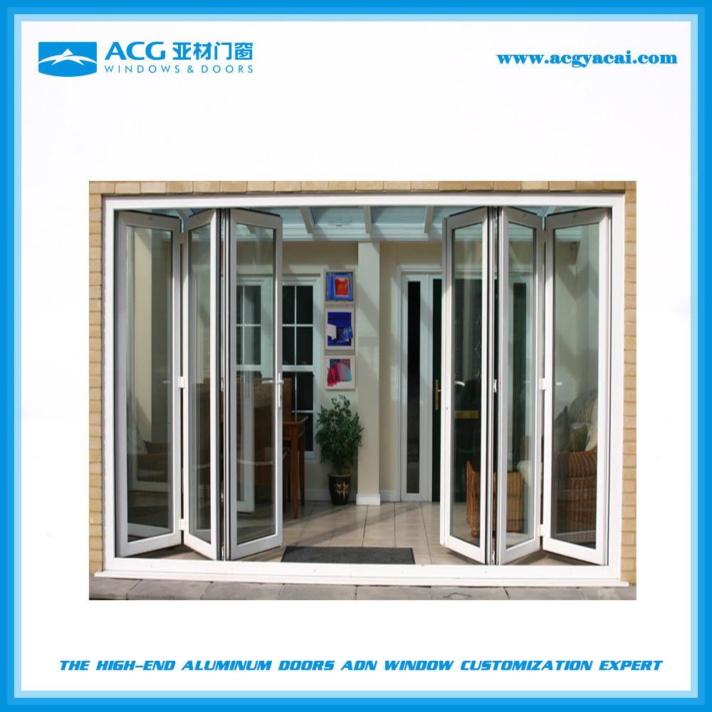America Villa Designed Aluminum French Patio Folding Door Building