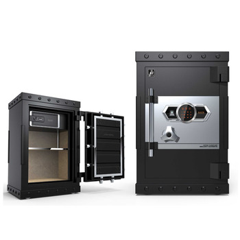 Customize Biometric Electronic Hidden Wall Safe With Handle Gun Custom Made Metal Locker Cabinet
