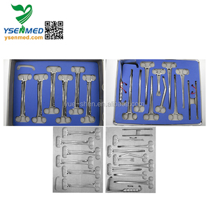 Gynecology Obstetrical for Delivery Room cesarean instruments set