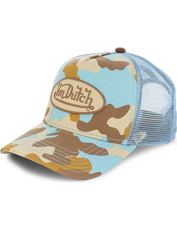 Get Quotations · Von Dutch Mens Patch Trucker Hat 136644f70528