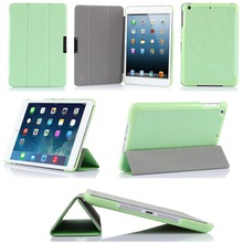 New Product Design Stand Foldable Leather Cover Smart Tablet Case For iPad Mini 3