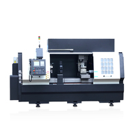 Automatic metal turning milling cnc lathe machine tool