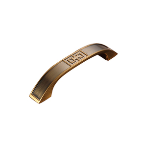 Door handle parts names yellow bronze Zinc alloy door handles Z-1191