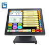 15 Inch Zero Bezel PCAP touchscreen Pos Equipment for Restaurant/Hotel