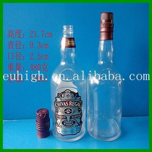 Best quality Chivas Regal 750 ml glass bottle