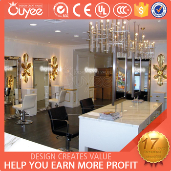 Customized Luxury Hair Products Kiosk / Hair Salon Storage Cabinet / Hair  Salon Furniture China
