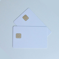 Best price FM4442 contact IC chip blank PVC smart card for payment and access