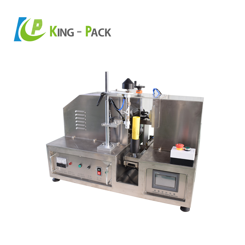 Best selling KINGPACK automatic ultrasonic plastic tube filling and sealing machine for cream,cosmetics etc.