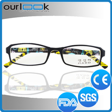 Fashion Optical Frame Safety Spectacle Long Temple Design Reading Glasses