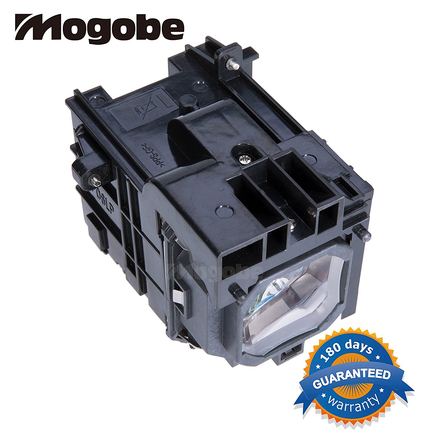 Mogobe NP06LP Compatible Projector Lamp with Housing for Nec NP1150 NP1150+ NP1150G2 NP1250 NP1250+ NP1250G2 NP1250W NP2150 NP2150+ NP2150G2 NP2250 NP2250+ NP2250G2 NP3150 NP3150+ NP3150G2 NP3150W NP3151 NP3151+ NP3151W NP3250 NP3250+ NP3250G2 NP3250W NP3250WG2 NP3251 NP3251W P2150 P2150+