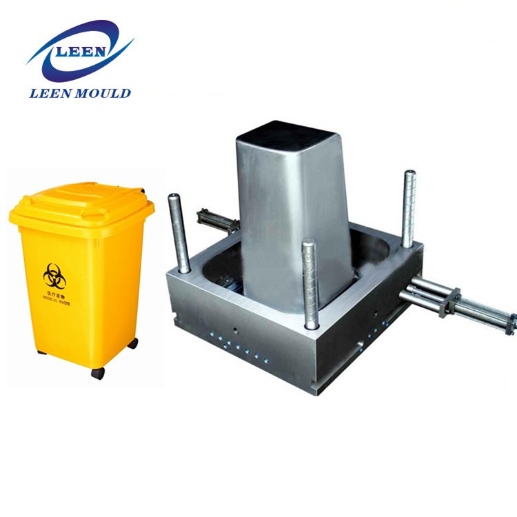 Factory Directly Hot Selling Plastic Medical Waste Bin Injection Mould