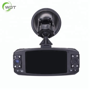 Russia hot sale all black dual 720p car dvr