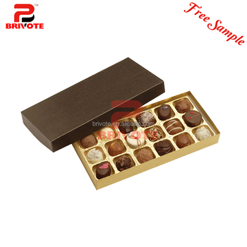 Diy Chocolate Packaging Box Design Templates With Ribbon - Buy ...