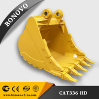 E336 heavy duty digger bucket Excavator parts for 36 ton machinery E336 dig bucket
