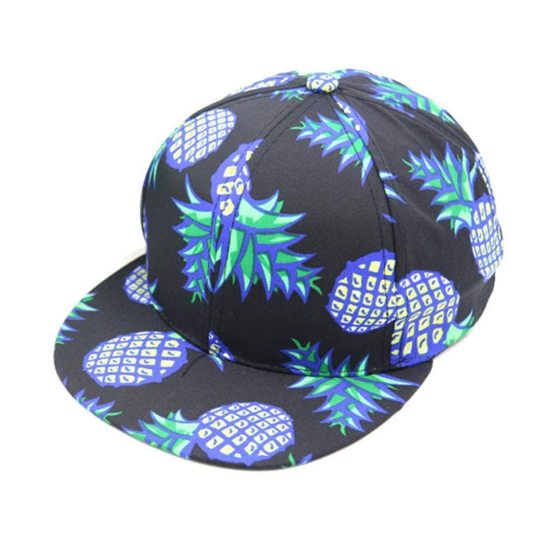 Unpara Pineapple Printed Baseball Cap Hip-hop Style Shade Hat