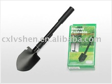 Metal folded gardening hand spade tools shovel
