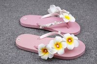 SUMMER Latest ladies slipper designs women flip flop slipper with flower