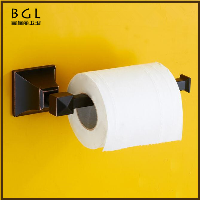 No.17333D Direct Marketing Factory Zinc Alloy Soft Feeling Wall Mounted Bathroom Accessories Paper Holder
